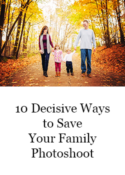 10 Ways to Save Your Family Photoshoot Guide Banner